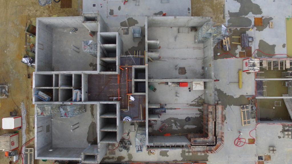 09/05/2019 : vue du dessus des décanteurs